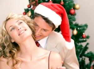 Christmas couple 3