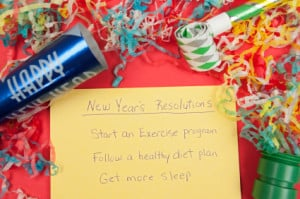 New Years Resolutions: Healthy Lifestyle
