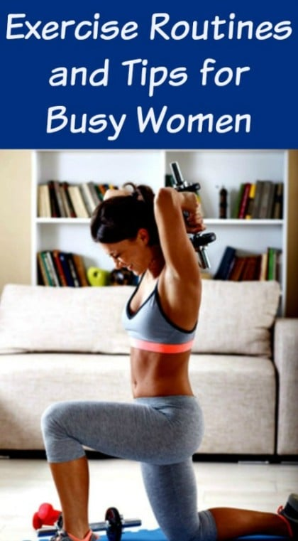 Here are some exercise routines, tips and strategies every woman can use to get healthy and fit this year.