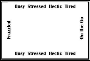 Frame - stressed