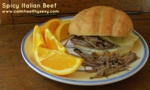 Spicy Italian Beef