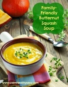 Family-Friendly Butternut Squash Soup