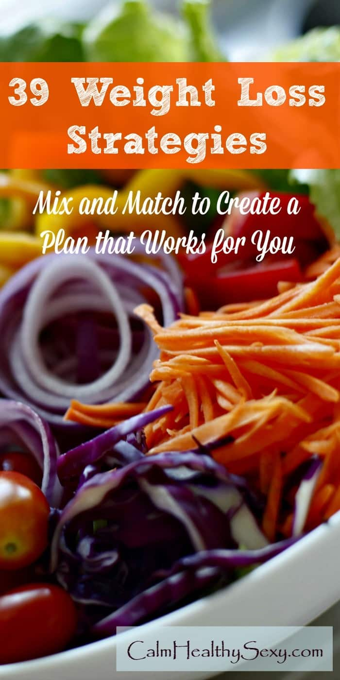 39 Weight Loss Strategies for Women - Mix and match to create a plan that helps you lose weight and feel great. Diet   Healthy eating   Tips and motivation