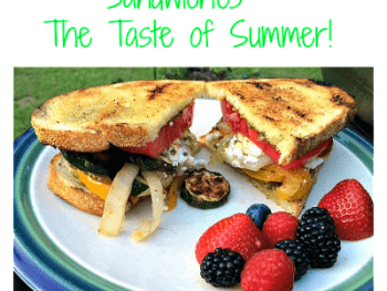 Grilled Vegetable Sandwiches – The Taste of Summer