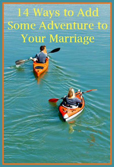 14 Ways to Add Adventure to Your Marriage - Fun and simple ideas for having fun with your spouse and bringing back some excitement to your marriage. Marriage tips and advice | Married life | Christian marriage | Encouragement