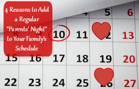 Calendar with text