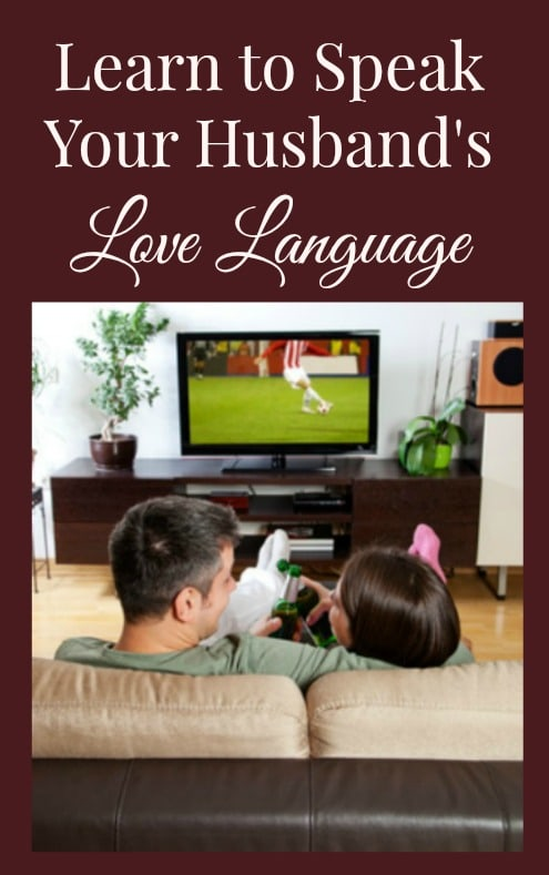 "Do you know the 5 love languages? Which love language ""speaks"" most clearly to your husband? Learn how to love your husband in the way he needs to be loved – it's a simple but powerful way to strengthen your marriage."