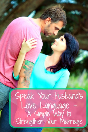 Love language couple with text