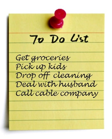 Marriage To Do List