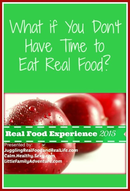 Don't have time to eat real food