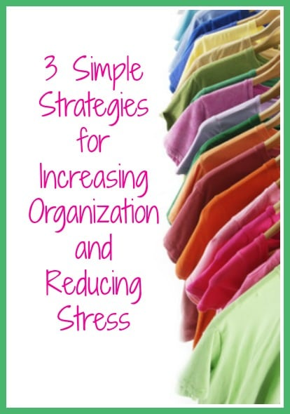 Increase organization and reduce stress 2