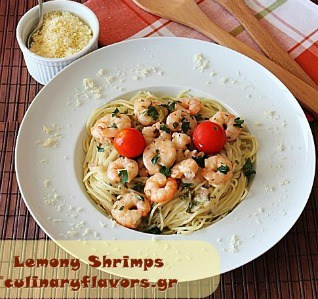 Lemony Shrimps