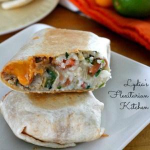 restaurant style burritos