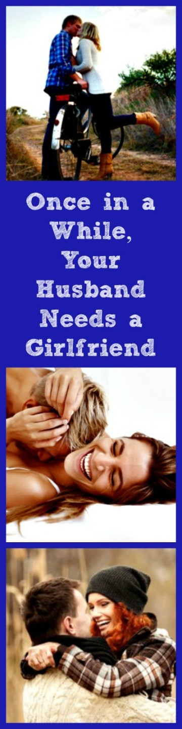 "Once in a while, your husband needs you to be his girlfriend! Here are simple ways to have fun together while giving him a little bit of the ""girlfriend treatment."" Marriage tips 