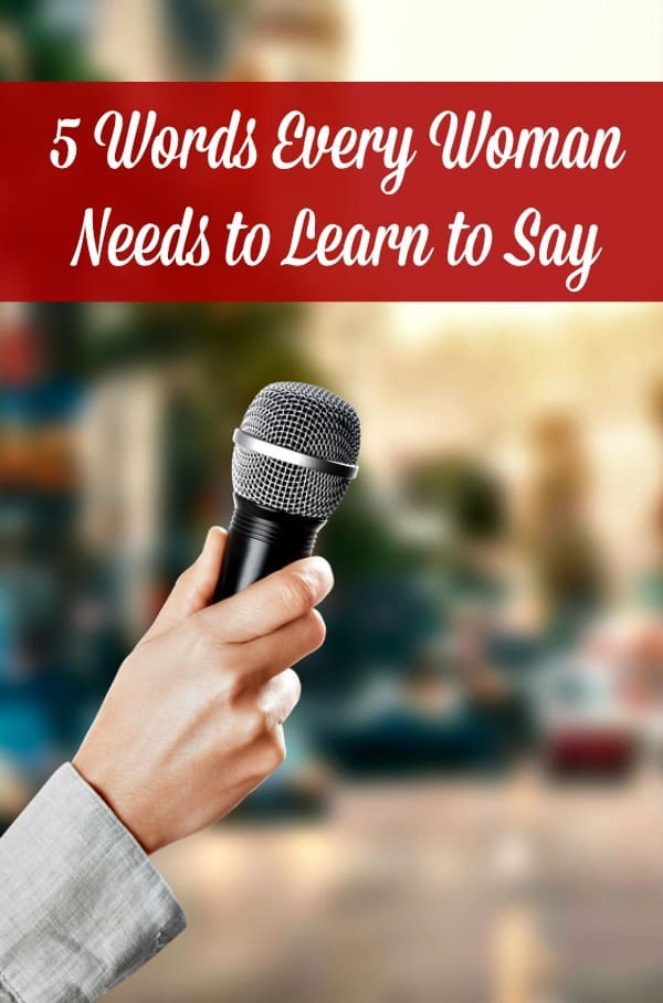 Words women need to learn to say #sayno #learntosayno #wellness #women