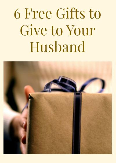 Free Gifts Your Husband will Love