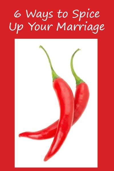 6 Ways to Spice Up Your Marriage - Add some fun and excitement to your married life! Marriage tips | Marriage advice | Fun and sexy marriage