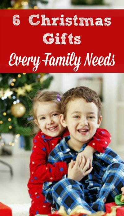 6 Christmas Gifts Every Family Needs - Your children may not want more toys and presents this Christmas. Instead, they may want these 6 gifts - and you and your husband almost certainly want them! Boys | Girls | Family | Holiday ideas | Christmas traditions
