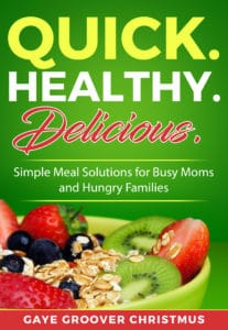 Easy meal prep idea - healthy eating ebook