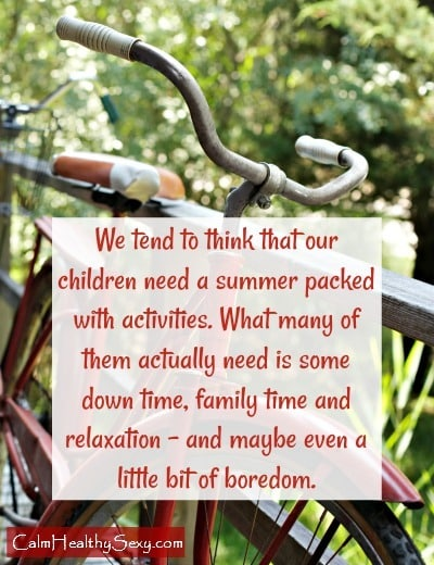 Enjoy the summer - What your children need this summer