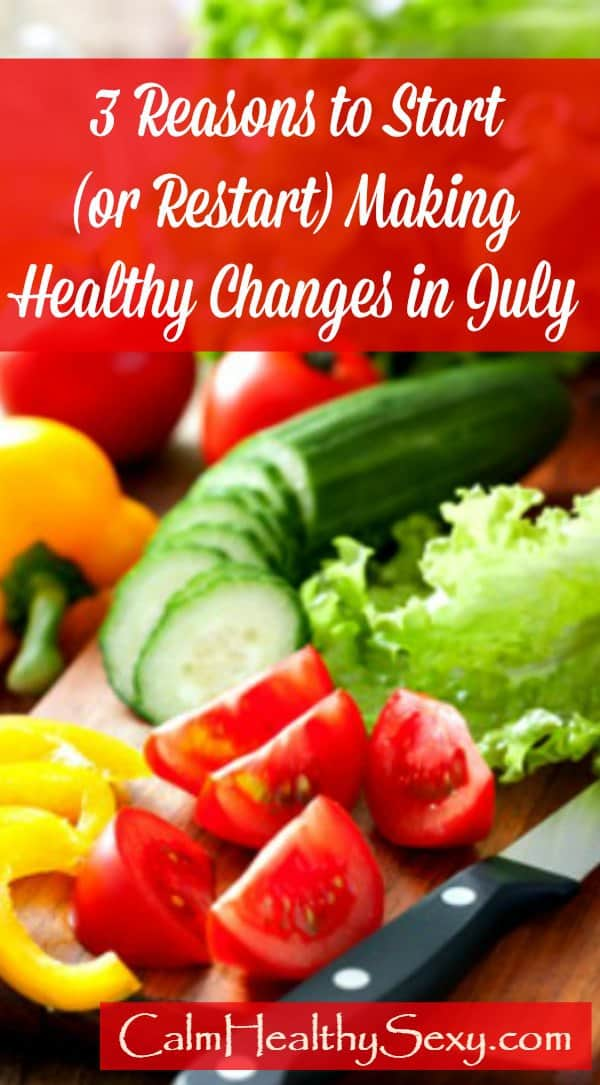 Make healthy changes in July - healthy vegetables