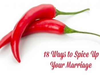 18 Ways to Spice Up Your Marriage + Free Printable