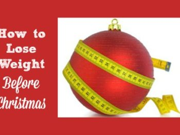 How to Lose Weight Before Christmas