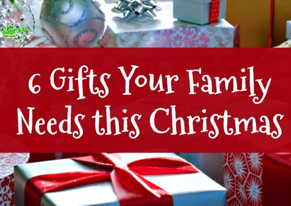 6 Family Christmas Gifts You Need this Year - Your children may not want more stuff this Christmas. Instead, they may want these 6 family Christmas gifts - and you and your husband almost certainly want them! Holiday ideas | Christmas traditions #Christmas #Family #Christmasgifts