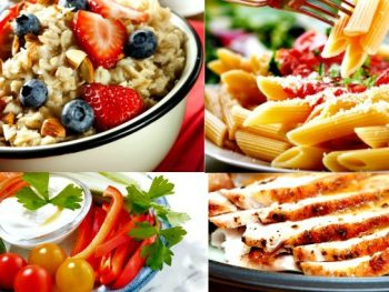 24 Healthy and Quick Family Meals - This free ebook shares easy and healthy breakfasts, lunches and dinners for busy moms and families. Healthy eating | Healthy living | Easy family dinners on a budget | Kid friendly