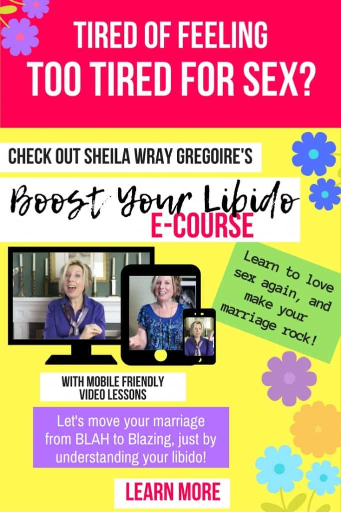 Boost Your Libido online course - Sheila Wray Gregoire