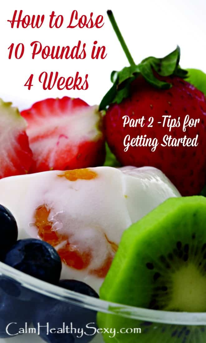 How to Lose 10 Pounds in 4 Weeks