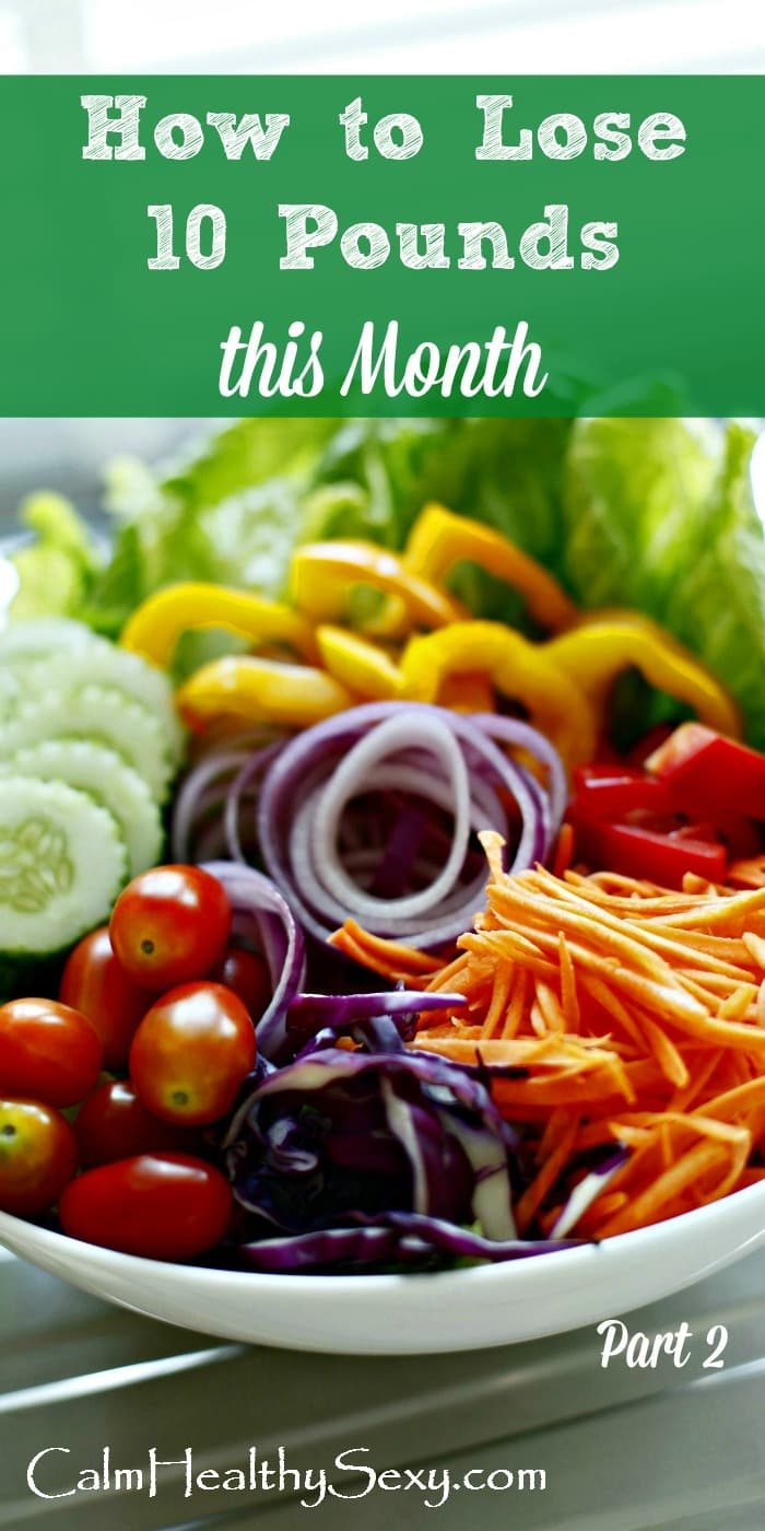 Lose 10 Pounds in 30 Days - Here's a healthy diet, exercise and weight loss plan that can help you lose weight in 4 weeks. Yes, you can lose 10 pounds in a month - here's are the diet, tips and strategies that will make it work in your busy life. Healthy eating | 30 days | Meal plan | Healthy living | Weight loss | Weightloss #healthydiet #weightloss #loseweight #lose10pounds #healthyweightloss