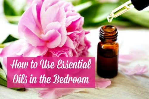 Essential oils in the bedroom