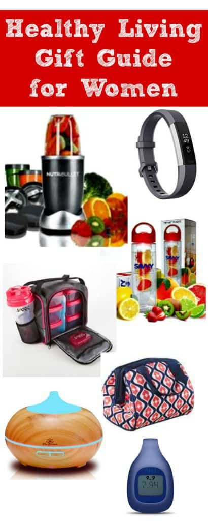 Best healthy gift ideas for women - Healthy living gift guide for all of the women on your holiday shopping list. Fitness | Healthy eating | Diet | Weight loss | Exercise