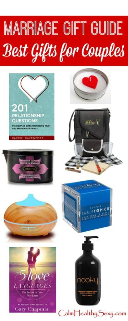 Best Gifts for Couples - Christmas and holiday marriage gift guide include fun, sexy, serious and practical gifts. Great for your own marriage and perfect for finding gifts for the couples on your Christmas gift list. Gift ideas | Christmas presents for couples | Marriage tips, ideas and encouragement #giftguide #Christmasgifts