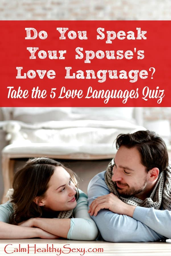 "Do You Speak Your Spouse's Love Language? Here are the resources you need to identify his love language, including a love languages quiz. Communicating with your husband in the ""language"" he best understands can be a powerful way to strengthen your marriage. Marriage tips and advice 