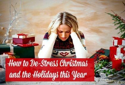 Ho to De-Stress Christmas