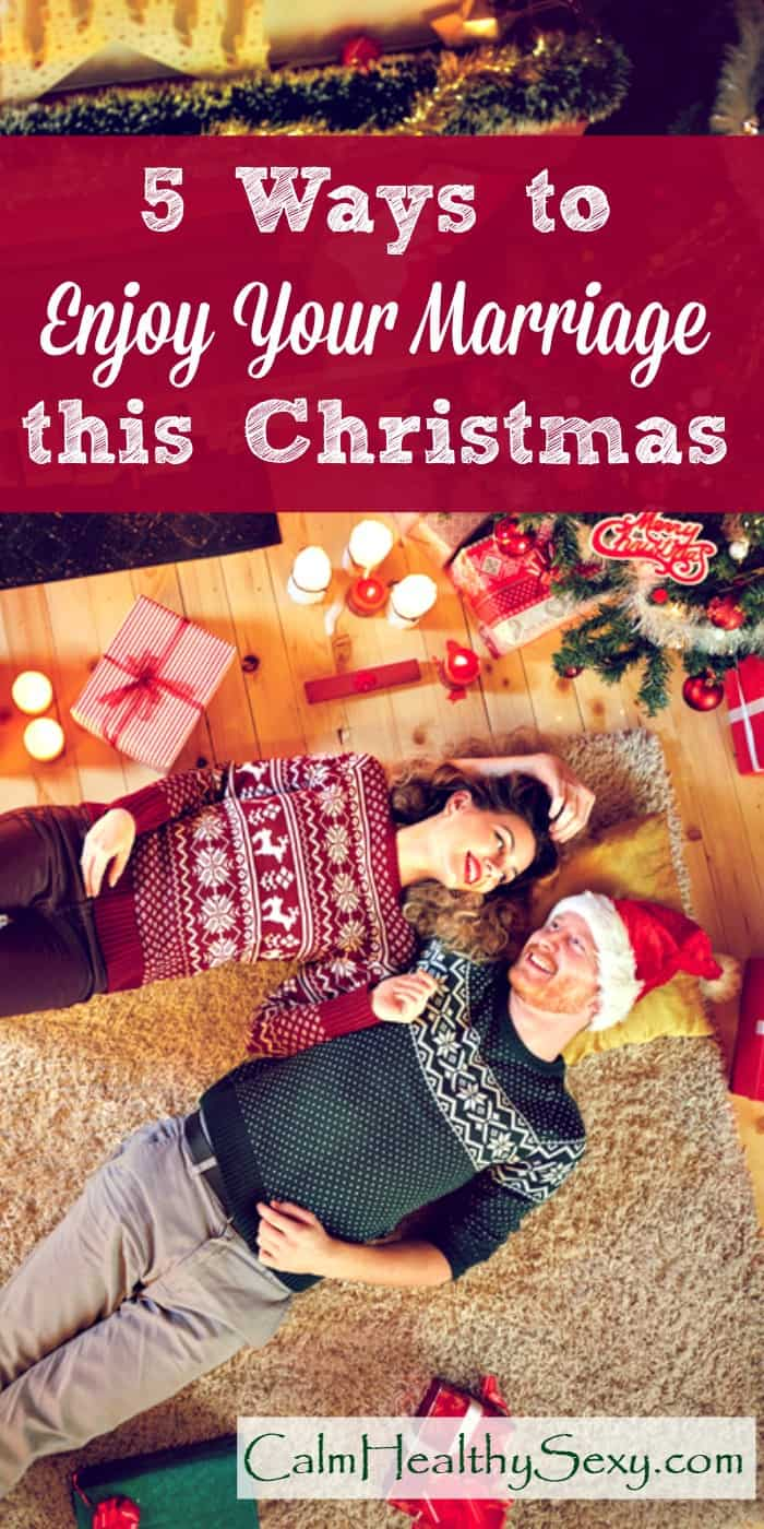 How to Have Fun with Your Husband and Enjoy Your Marriage during Christmas and the Holidays - The Christmas season is hectic, and it's easy to lose track of your spouse and your marriage. Here are 5 simple steps to prioritizing your marriage and your spouse this Christmas. Marriage tips and advice | Christmas ideas #Christmas #marriage #happymarriage #MerryChristmas