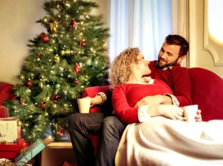 Have fun with your husband at Christmas