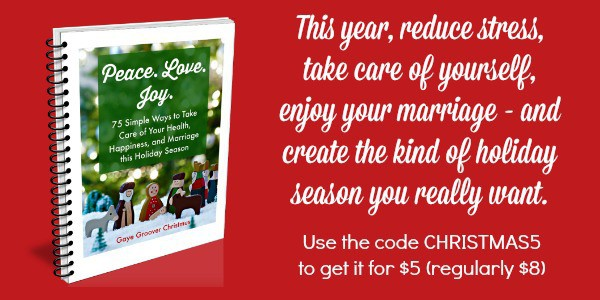 Peace Love Joy Christmas ebook - How to reduce Christmas stress this year