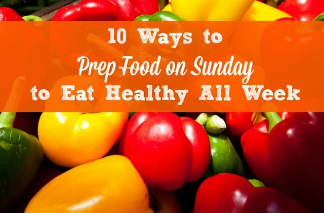 Weekly meal prep for busy women - Prep food on the weekend and eat healthy all week! Healthy meal prep ideas, tips and strategies to make your life a little easier. Healthy living | Sunday meal prep | Healthy eating | Healthy diet #mealprep #foodprep #Sundayfoodprep #Sundaymealprep