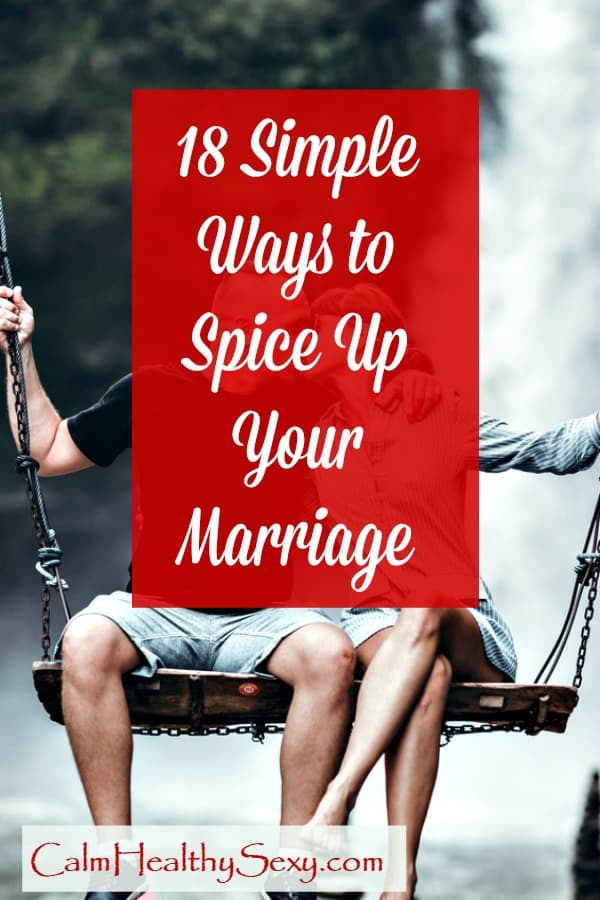 Ways to spice up your lovelife