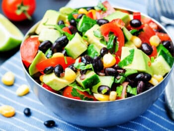 Zesty bean salad
